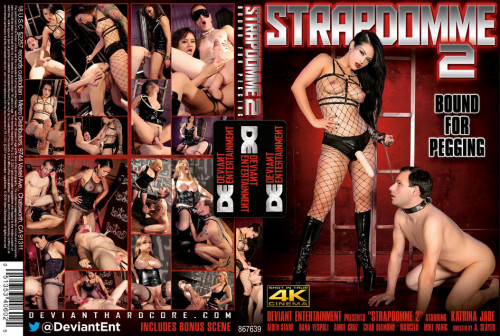 Strapdomme vol 2 - Bound For Pegging Femdom and Strapon