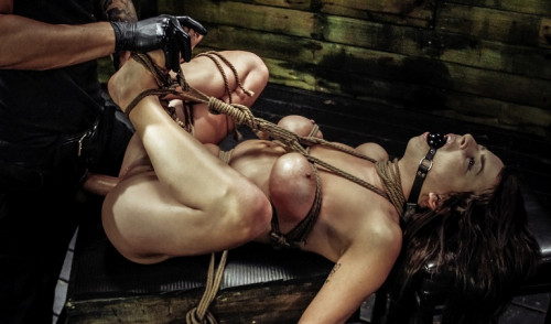 Kali Kavalli Endures 1st Slave Training with Rope Bondage-curvy and sultry Kali Kavalli