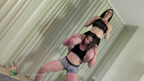 Miss Monrow Lift and Carry Female Muscle