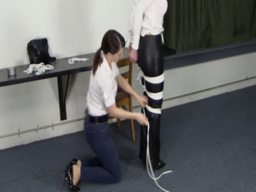 Security Guard's Hands On Approach BDSM