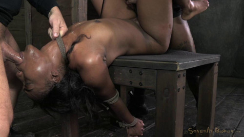 Chanell Heart fucked hard and put away wet BDSM