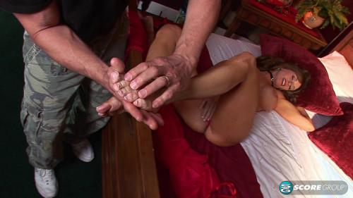 Bibette Blanche - Racy In Red Sex Massage