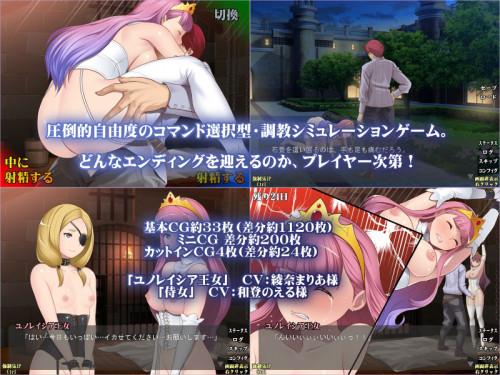 Princess Escalation Princess of Confession Hentai games