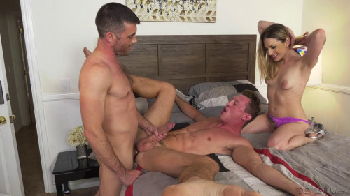 Dahlia Sky, Lance Hart, Pierce Paris Bisexuals