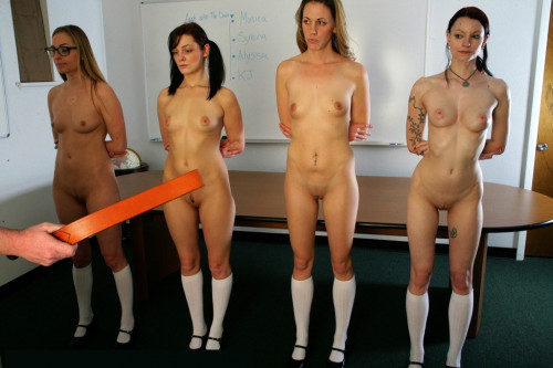 Real Spankings Institute - 4 Girls, 4 Straps