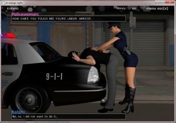 A Strange Night Porn games
