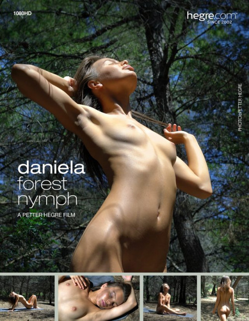 Daniela - Forest Nymph Erotic Video