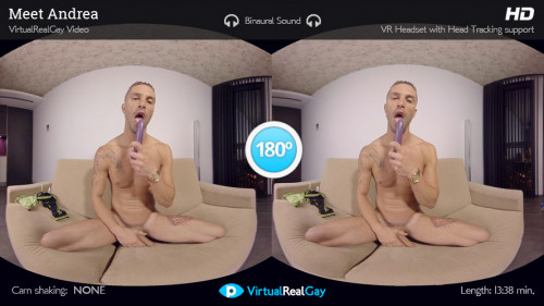 Virtual Real Gay - Meet Andrea (Android/iPhone) Gay 3D stereo