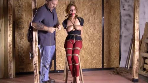 Ashley Graham In A Real Bondage BDSM