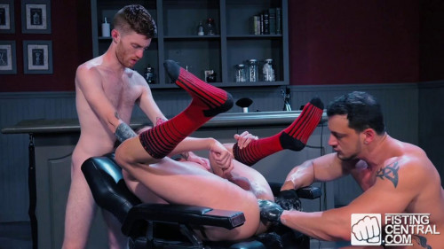Fisting Central - Fisty's Barber Shop Scene 1 Gay BDSM