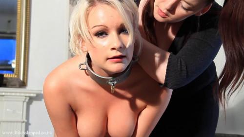Super restraint bondage, spanking and domination for concupiscent blond part2 HD 1080p