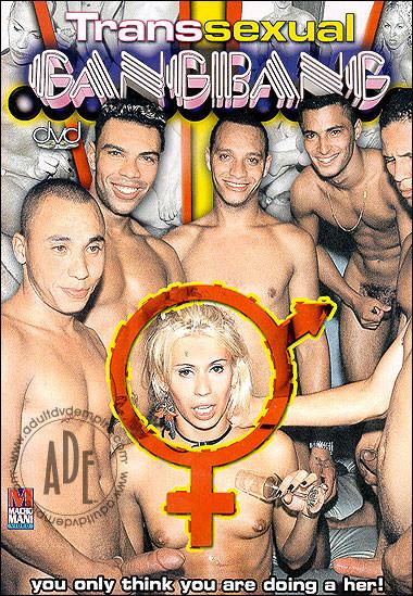 Transsexual Gangbang