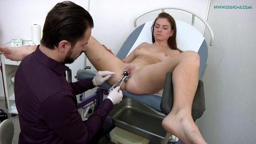 Mila Fox (23 years girl gyno exam)