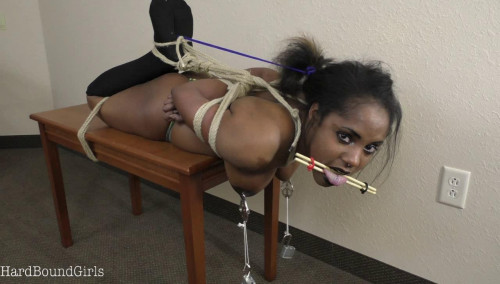 Billie Hogtied and Tongue Tormented BDSM