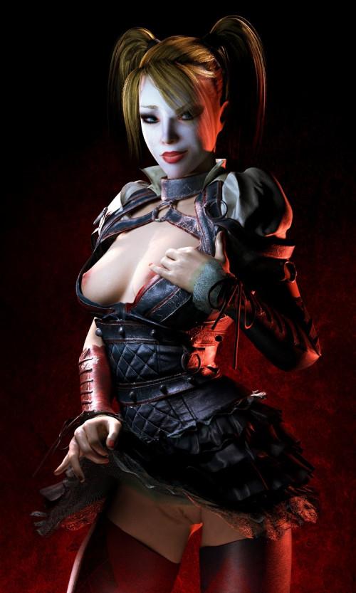 Sexy Harley Quinn Vol. 2 3D Porno
