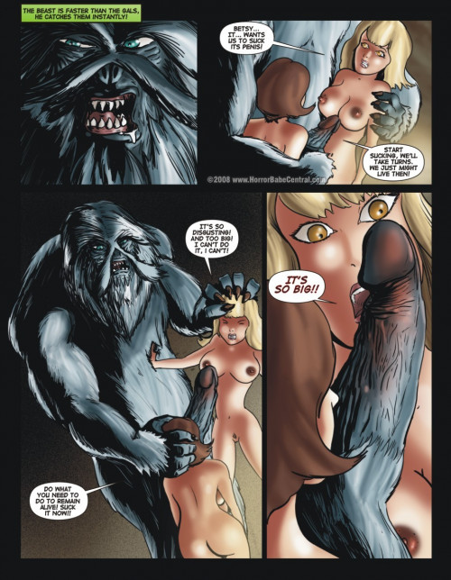 Horror Babe Story Porn Comics