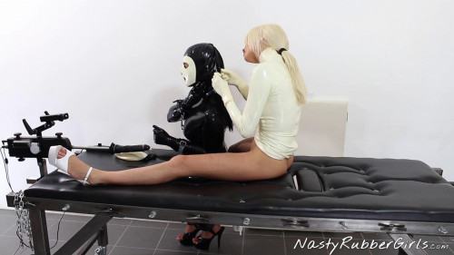 Wonderfull Perfect Nice Collection Of Natsy Rubber Girls. Part 1. BDSM Latex