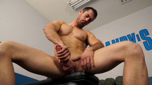 Hung workout with Brock Cooper Gay Solo