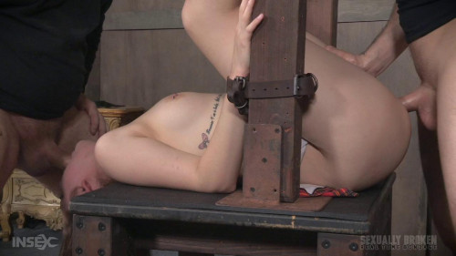 Nora Riley BaRS Part 3: Sexy Coed, gets brutally dicked down BDSM