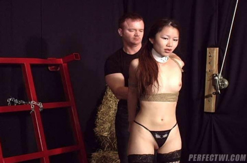 Asians Tied and Screwed