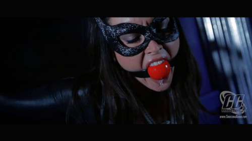 ChristinaBound - Catwoman Doublecross BDSM