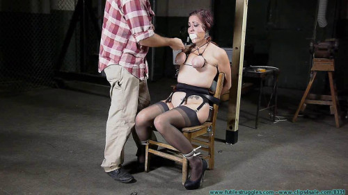 Tit Torture for Riley Jane 1 part - BDSM, Humiliation, Torture HD-720p