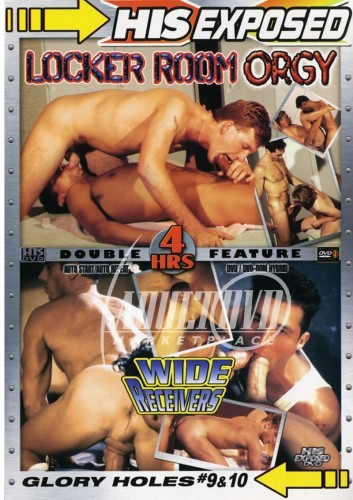 Glory Holes 09 & 10 -- Locker Room Orgy & Wide Receivers