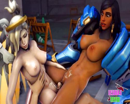 Mercy 3D Porno