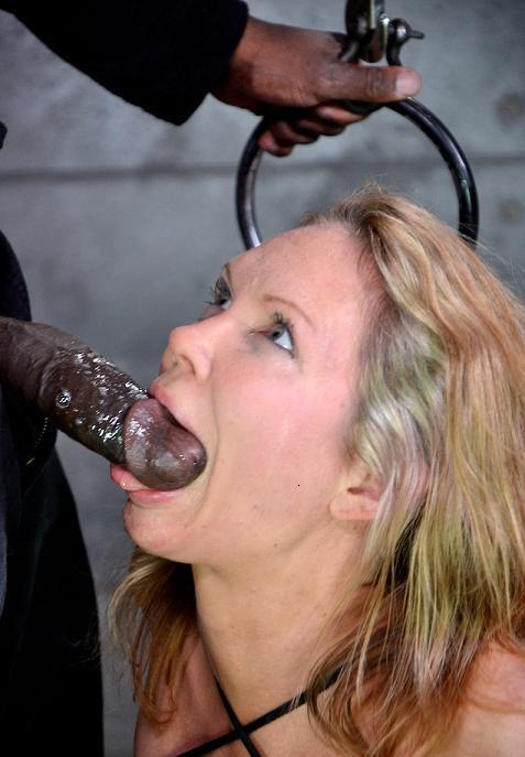 Black eclair for slave
