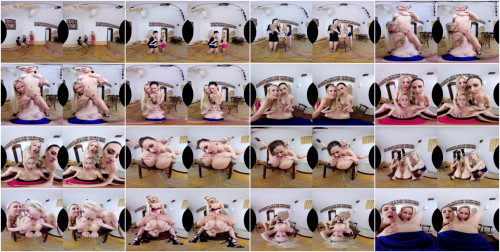Billie Star, Lola Myluv, Natalie Cherie 3D VR Porn – Dancing Babes Turn Naughty