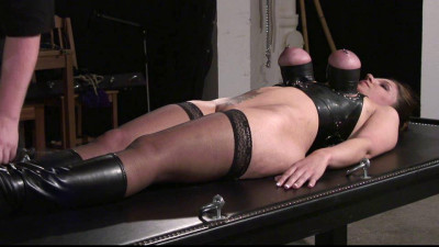 Bettine - Tit Torture in Rubber