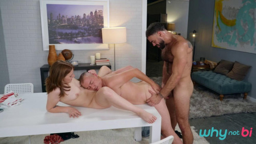 Dinner For Three - Ricky Larkin, James Darling, Jenna Clove - HD 720p