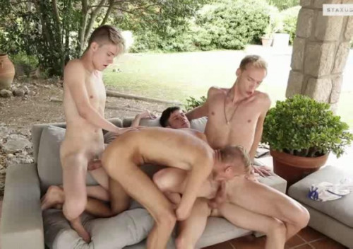 Summer Orgy With Teen Boys