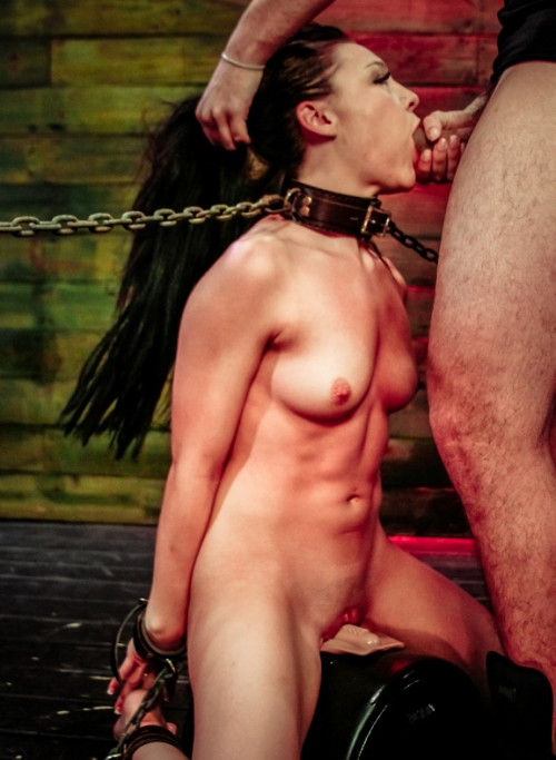 Curious Euro Slut Nikki Bell Has Earned Slave Training-Her pussy gets creamy from the torment