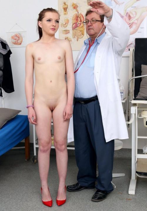 Romi (18 years girls gyno exam)