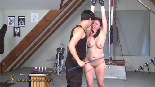 Naked and Barefoot BDSM