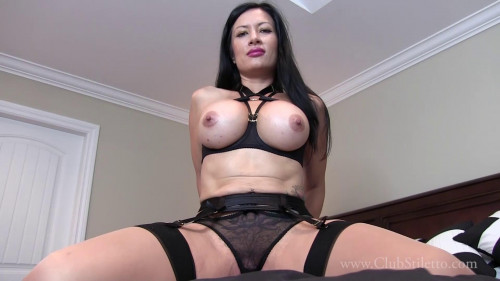 Miss Jasmine - No Air But What A View - Full HD 1080p Femdom and Strapon
