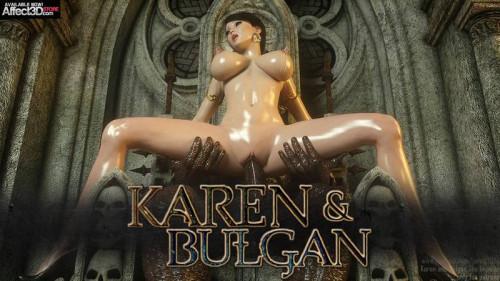 Karen and Bulgan the Impaler Comics