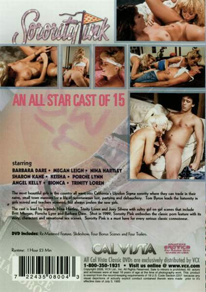 Sorority Pink (1989) - Nina Hartley, Megan Leigh, Sharon Kane Retro
