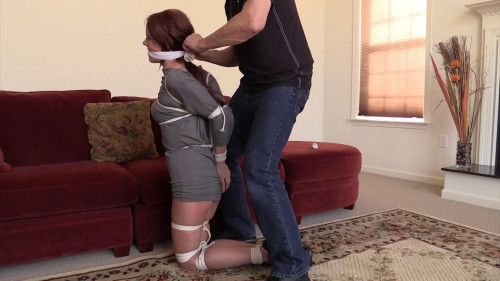Madalynn Raye-Oh My Gosh he has me tied up and gagged!