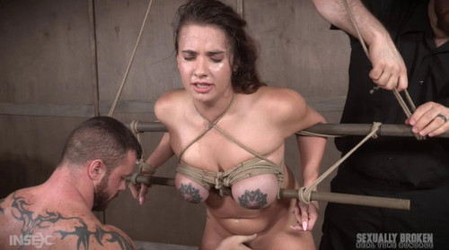 Amazing Scarlet De Sade is rough fucked with her incredible tits