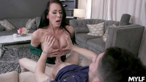 Reagan Fox - New MILF Tit Test Drive
