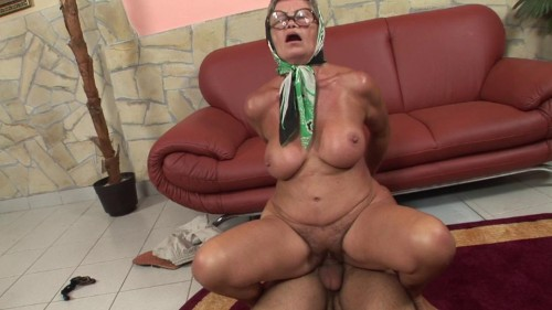 Big boobed granny gets fucked hard Old and Young