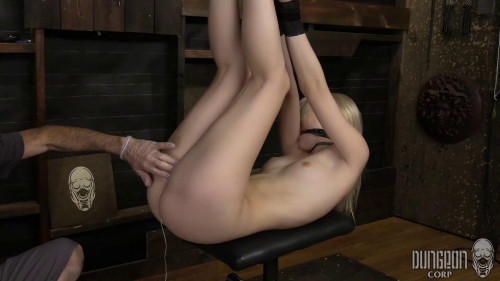 Blonde and Submissive Part 2 BDSM
