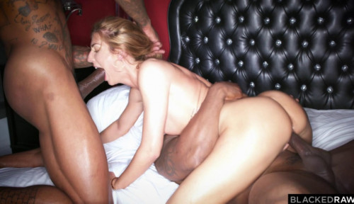 Euro Model Loves Hard Interracial Fuck