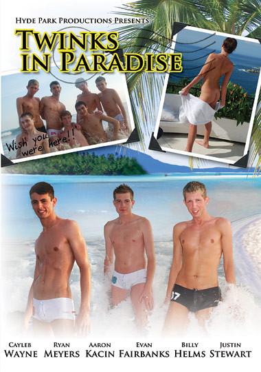 Twinks In Paradise - Cayleb Wayne, Ryan Meyers, Justin Stewart Gay Full-length films
