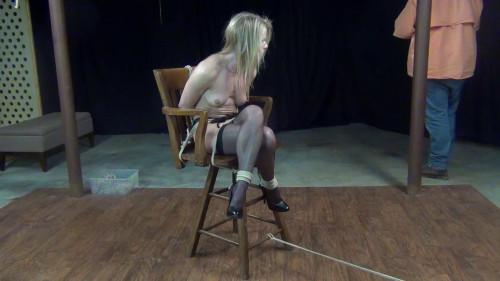Claire Irons: Sexy Cross Leg Tie
