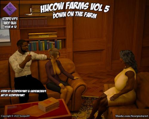 Hucow Farms Vol 5 - Down On The Farm [big breasts,squirting,bondage]