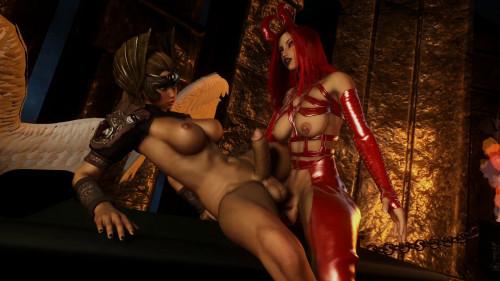 Angels Demons scene 1 [2020,3D,All sex]