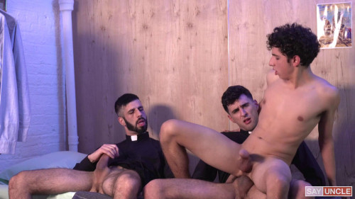 YF - Carter Ford, Father Gallo, Father Romeo - Carter: In The Dormitory (1080p)